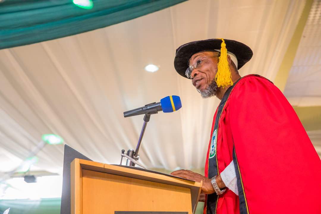 Aregbesola Tasks University Graduates On Good Conduct