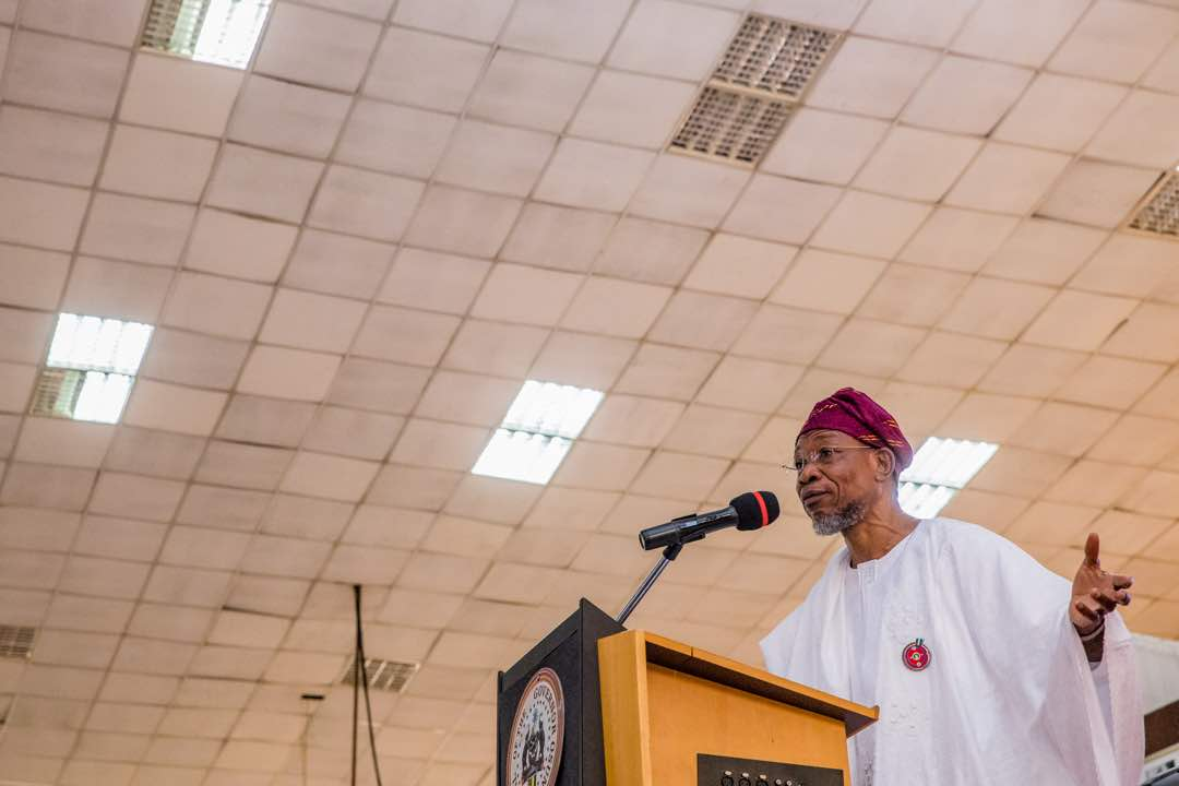 Be Hardworking, Shun Miracle Money – Aregbesola Urges Youths