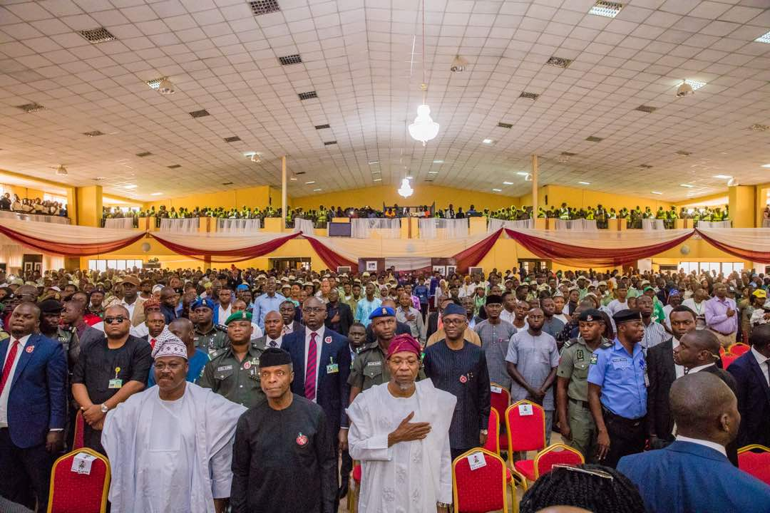Osun Govt Lauds Osinbajo, Ajimobi Others On Southwest Regional Youth Summit