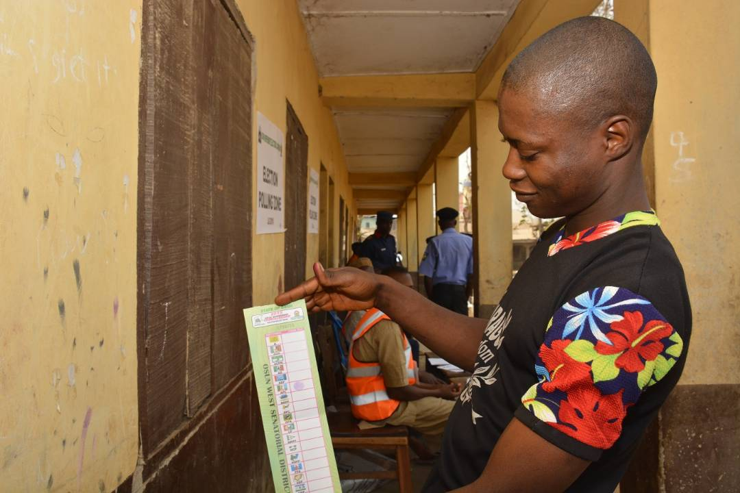 For The Records: Full Result Of Osun LG Parliamentary Elections