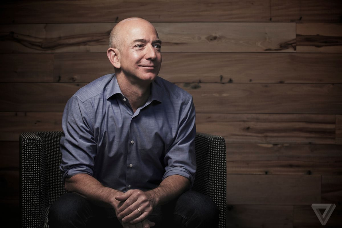 Jeff Bezos Of Amazon Becomes The Richest Man In History