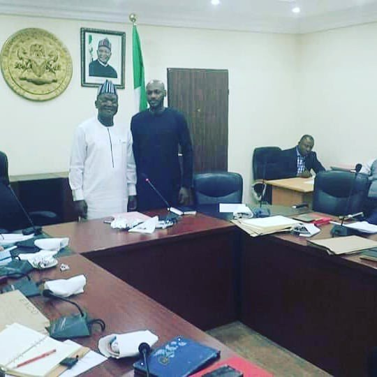 Tuface Visits Governor Ortom Over Herdsmen Killings