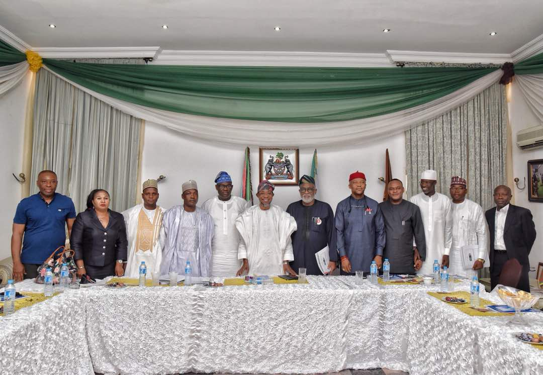 PHOTONEWS: Nigeria Governors Forum Technical Committee On Constitutional Amendment Meet