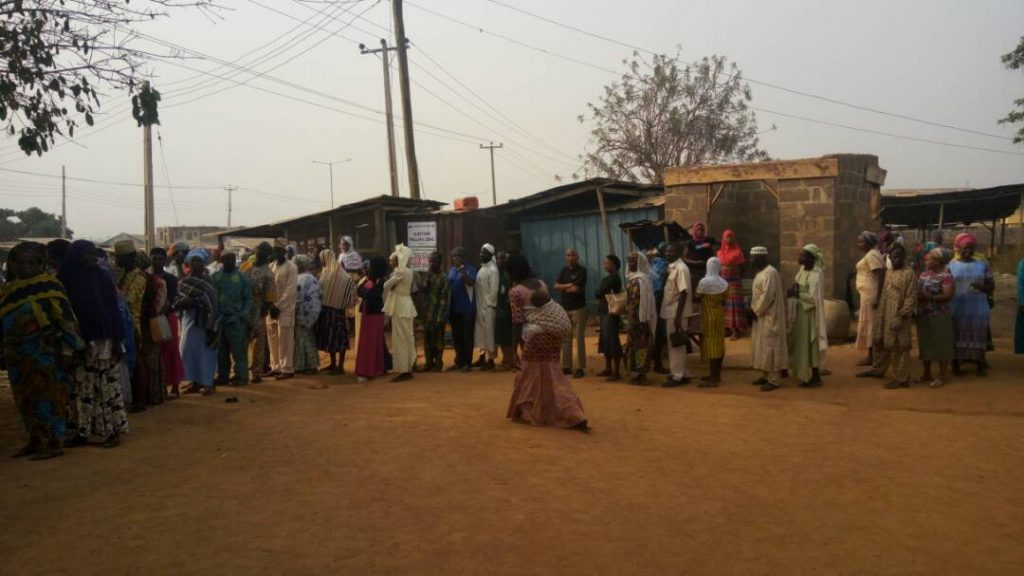 Image result for Osun Council Poll sees massive turnout of voters
