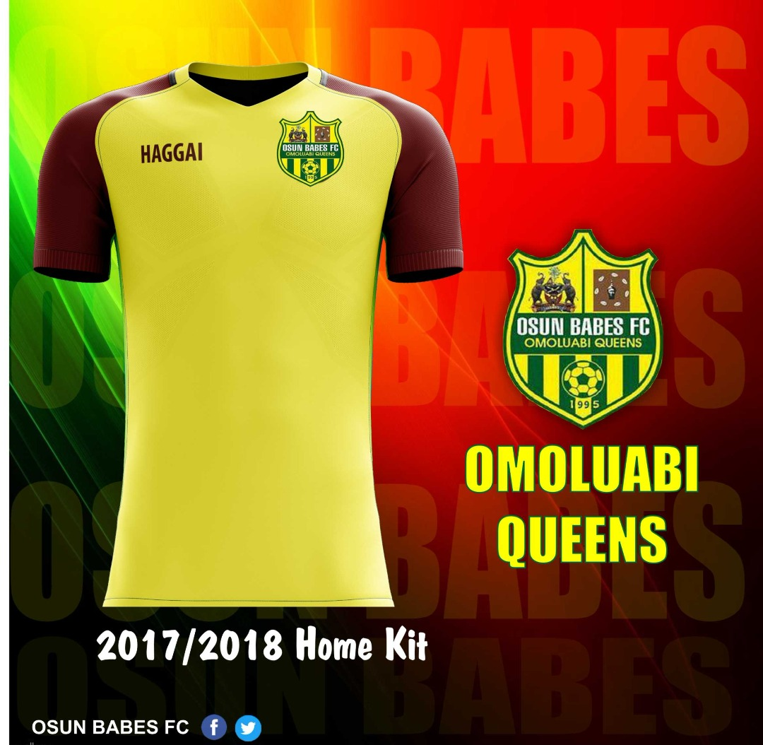 Osun Babes FC Launch 2017/2018 Home And Away Kits