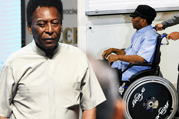 Pele Collapses After A Dangerous Exhaustion