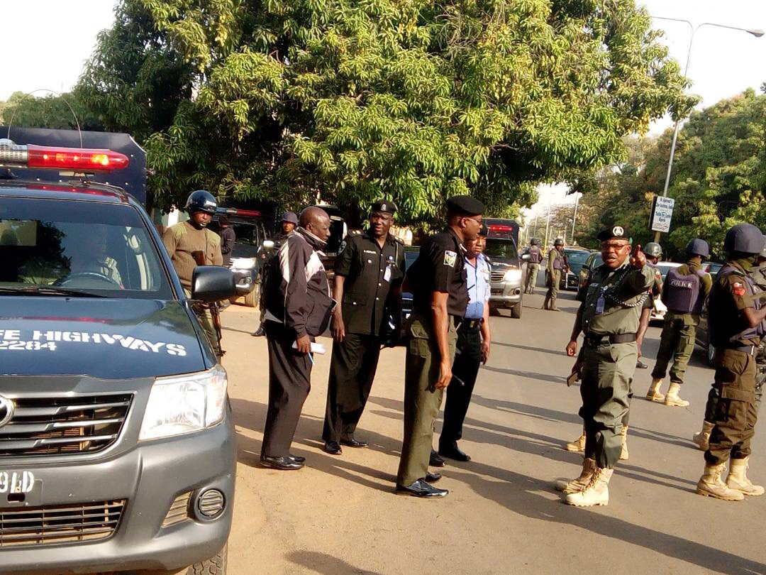 Breaking: Army, Police Take Over Kaduna Ahead Of NLC Protest