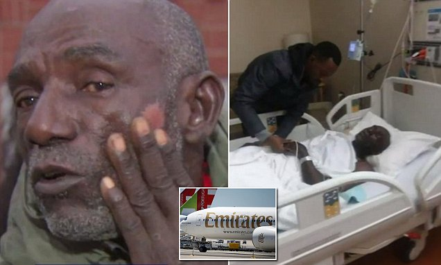 71-Year Old Nigerian Beaten, Tied Up By Emirate Crew  For  8 Hours