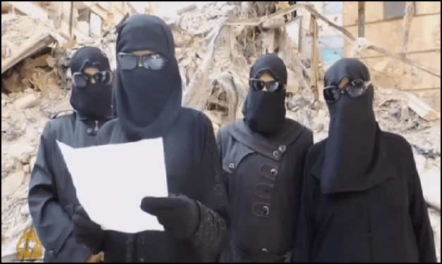 800 ISIS Women Detained In Syria