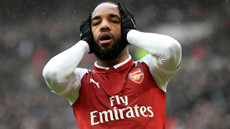 Arsenal's Lacazette Out For Six Weeks