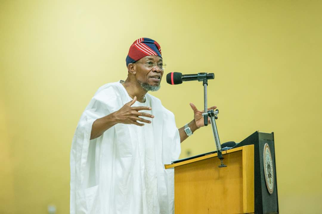 Aregbesola Charges NUJ On Quackery