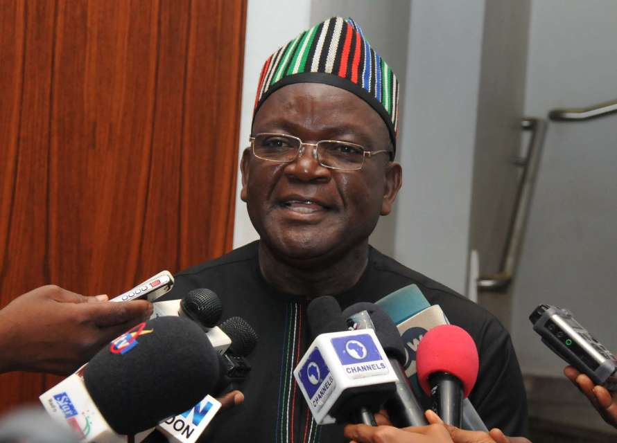 Samuel Ortom Swears In Special Adviser On Security