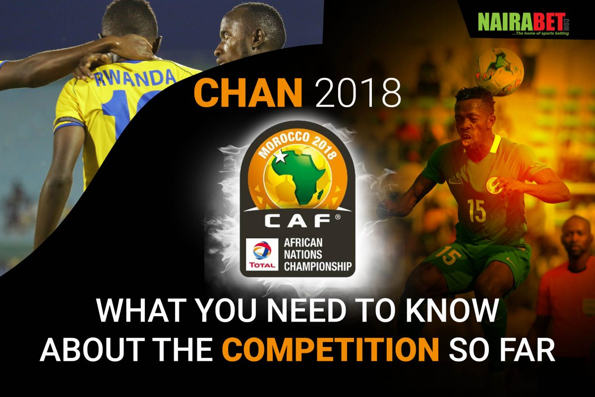 Eze, Ojo Included In  CHAN Team Of  The Tournament, El Kaabi Named MVP