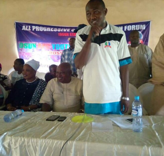 Osun Guber Race: OAPYF Coordinator Promises To Integrate Warring Members