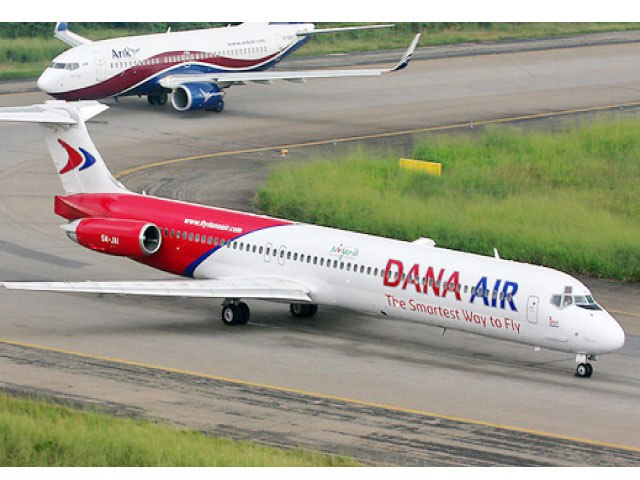 Confusion, Panic As Dana Airline Door Falls Off During Landing