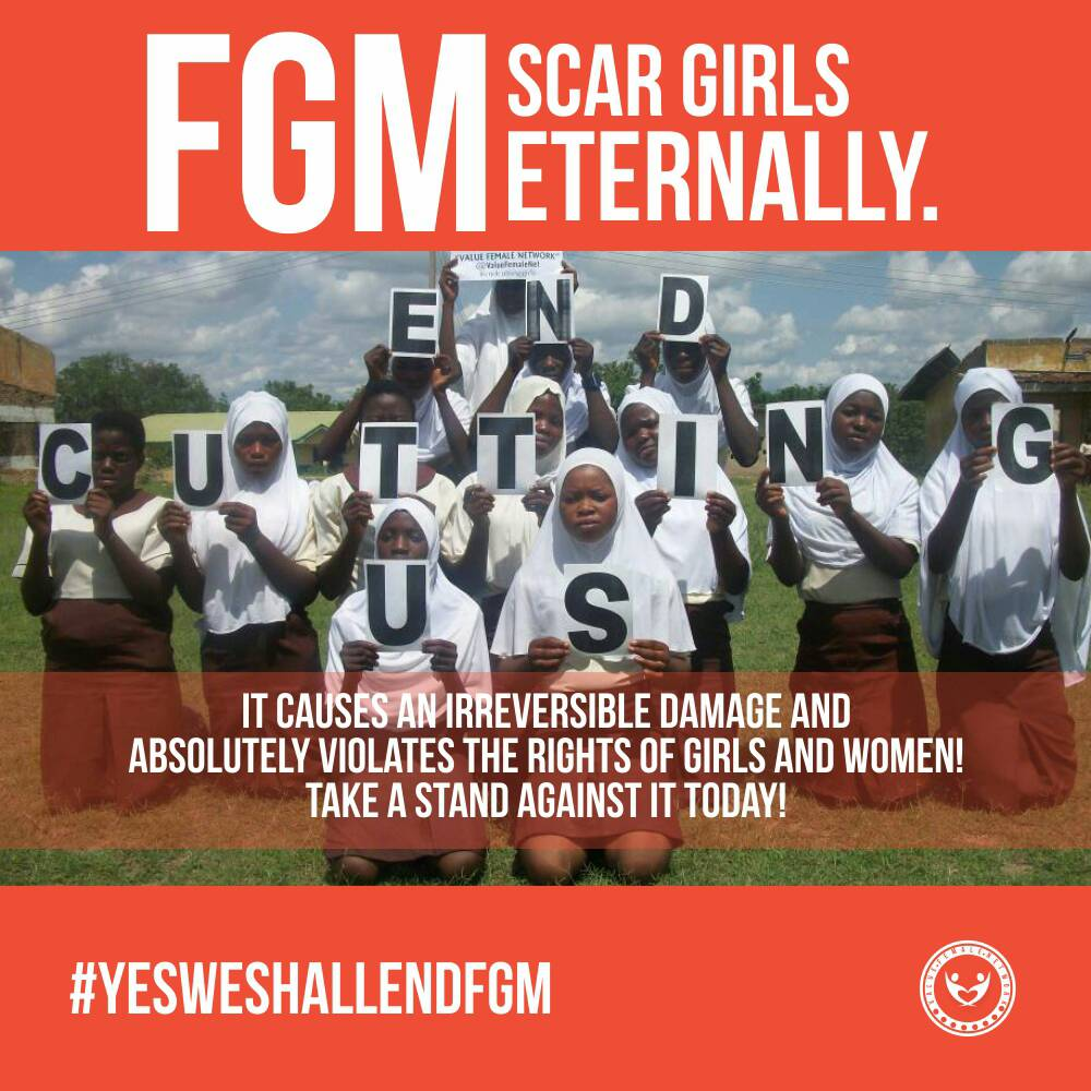 Int'l Day Of Zero Tolerance For FGM: NGO Seeks Collaborations To Tackle Practice