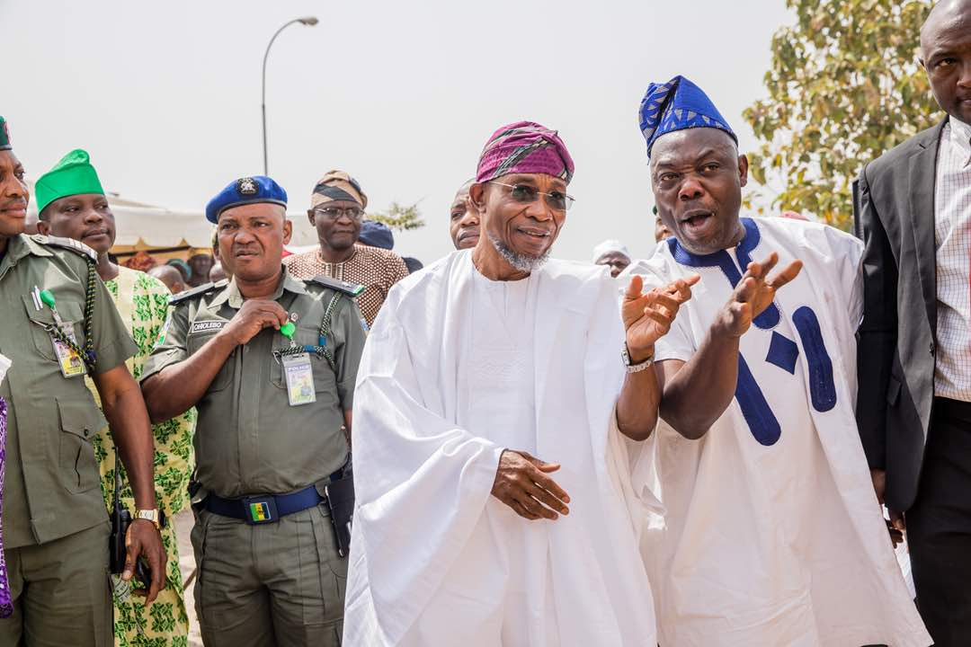 PHOTONEWS: Governor Aregbesola Attends 2017 Osun Public Service Award Ceremony