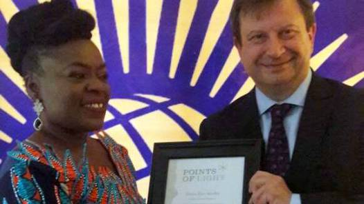 Queen Elizabeth II Recognizes Lagos Based Anti-Rape Campaigner