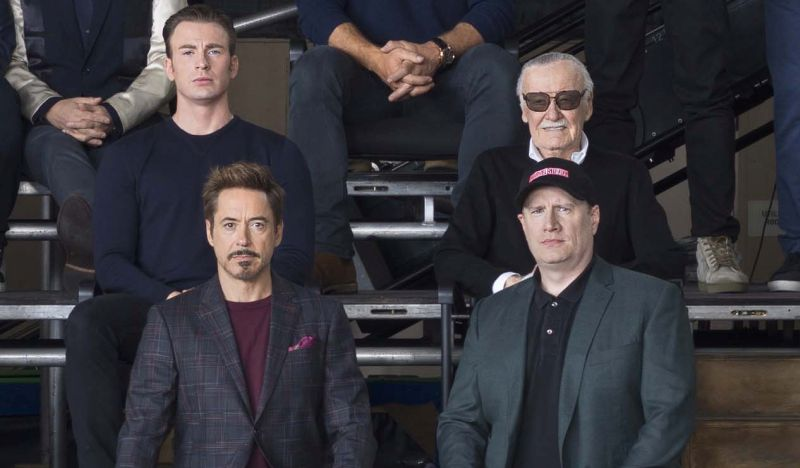 Marvel Characters Celebrate 10 Year Anniversary