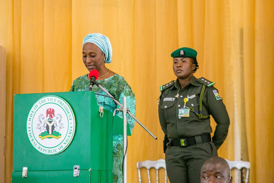 VP's Wife Charges Women On Nation Building