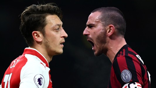 Arsenal Draw AcMilan In Europa League Round Of 16
