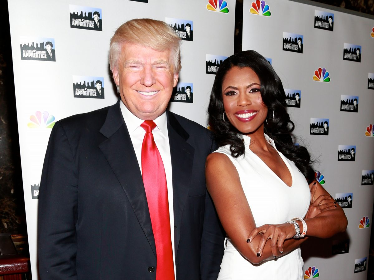 Trumps Former Aide, Omarosa Displays Breast In TV Show