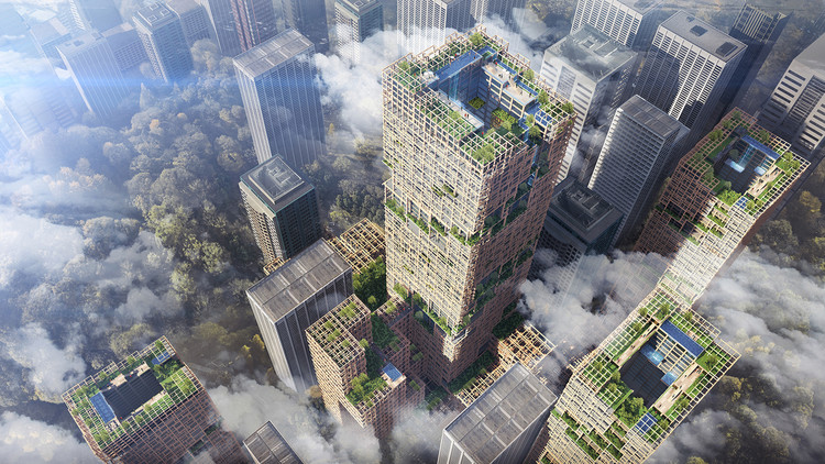 Tokyo announces plan to build 350-meter skyscraper made from wood