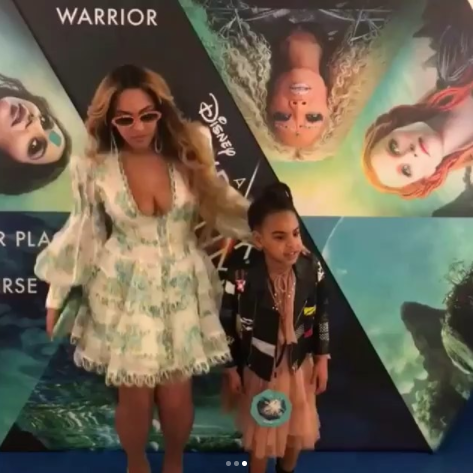 Beyonce Looks Amazing With Blue Ivy