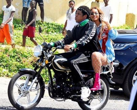 PHOTOS: Jay-Z And Beyonce In Jamaica