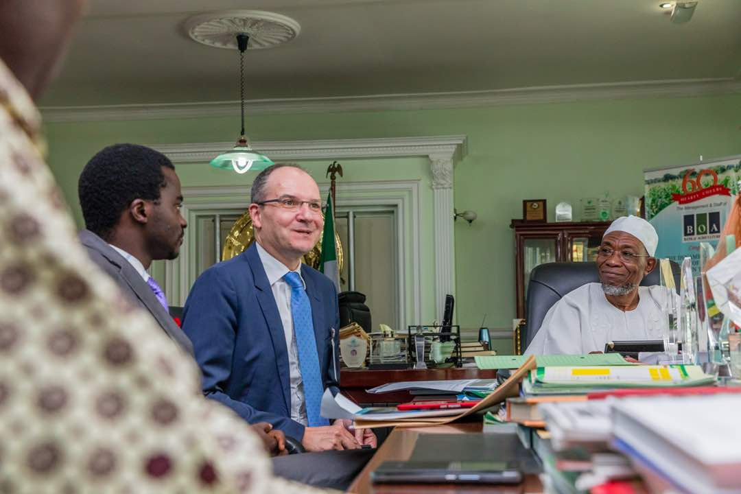 PHOTONEWS: Aregbesola Meets French Development Agency Country Director