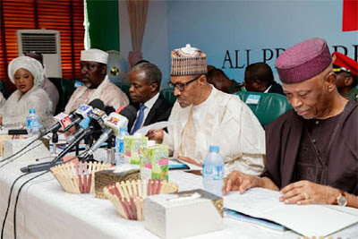 Buhari Says APC NWC Tenure Elongation Is Unconstitutional