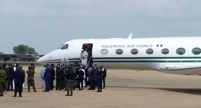 Buhari Arrives Benue, Meets Stakeholders