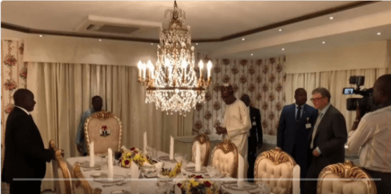 Buhari Hosts Bill Gates And Dangote To Dinner