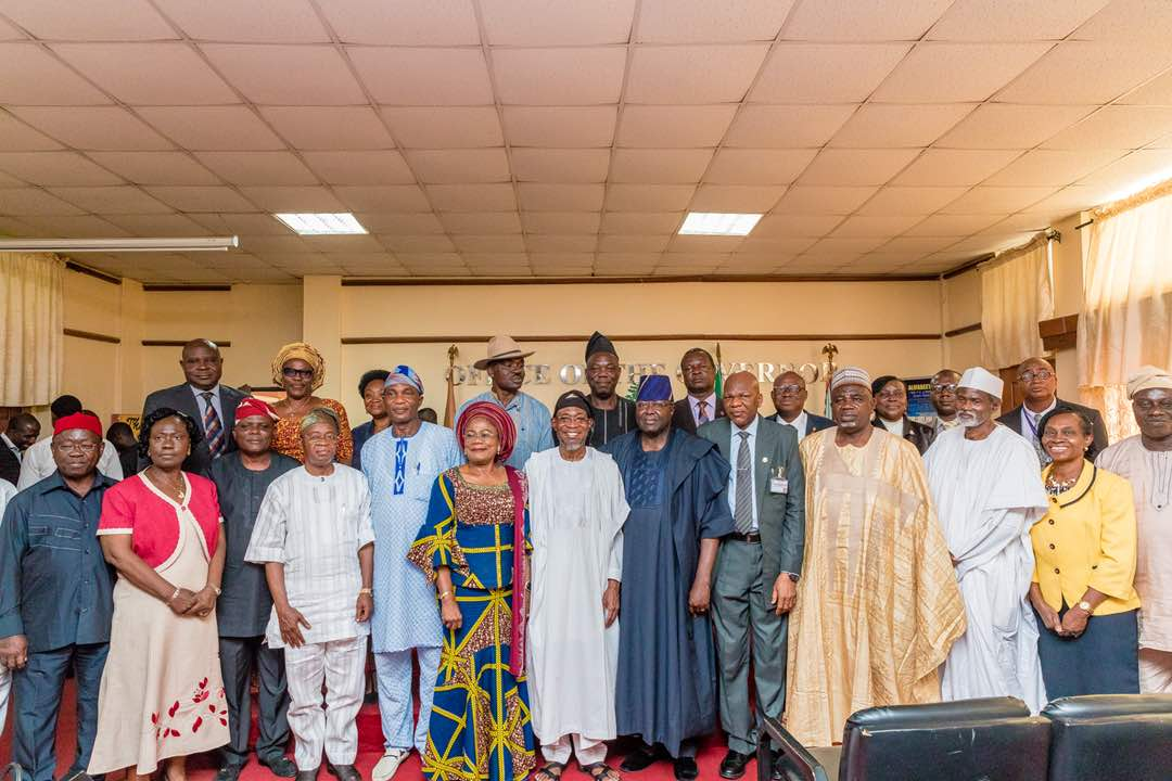 PHOTONEWS: OAU Governing Council Visits Aregbesola