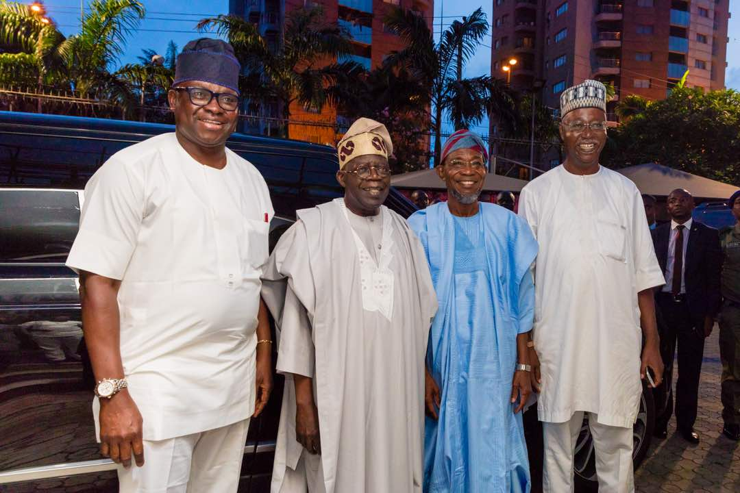PHOTONEWS: Aregbesola Attends Dangote's Daughter Wedding
