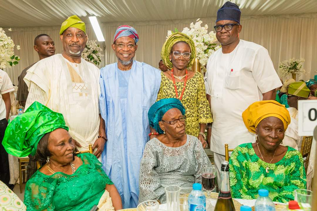 PHOTONEWS: APC, PDP Leaders Attend Alake Father's Burial