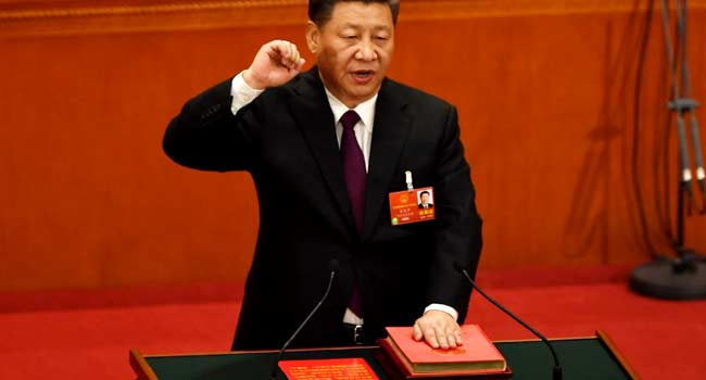 China's Xi Jinping Gets Second Term In Office