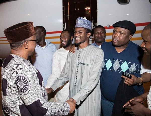 Yusuf Buhari Returns After Treatment In Germany