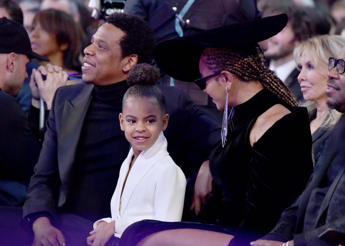 5 Year-Old Blue Ivy Writes Letter To Her Grandma And Mum, Beyonce