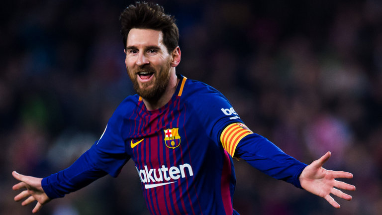 Messi Returns To Training With Barcelona
