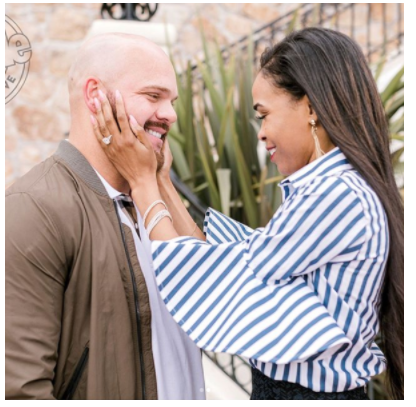 Pastor Chad Johnson Proposes To Michelle Williams