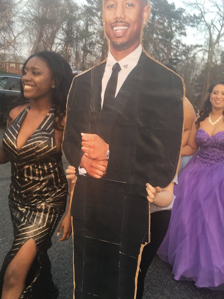 High School Student Takes Michael B Jordan As Her Date To Prom