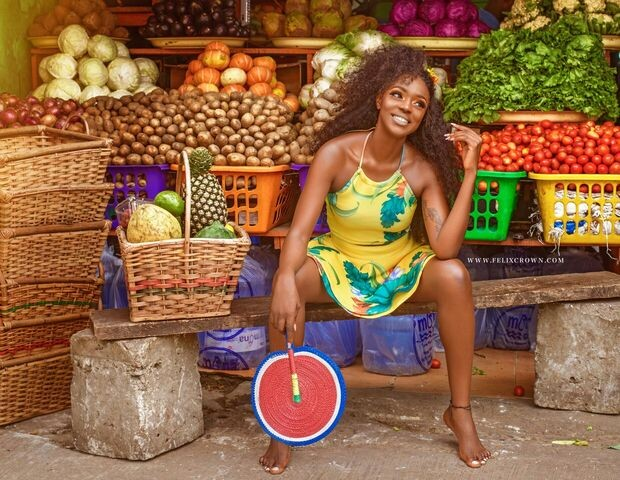 Beverly Osu 'Goes Market Woman' On Fans