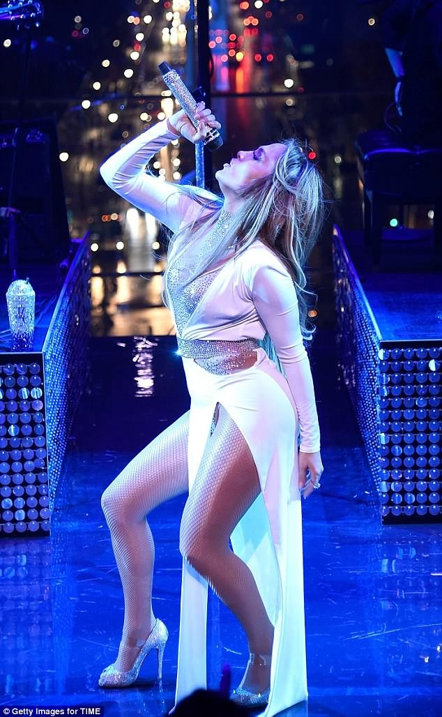 Photos Of Jennifer Lopez's Performance At The Time 100 Gala