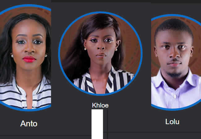 BBN Updates; 3 Housemates Leave the Big Brother House