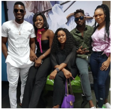 BBN Final 5 Housemates Spotted In Lagos
