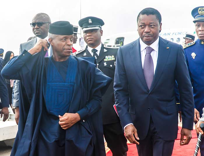 PHOTONEWS: Osinbajo Attends Extraordinary ECOWAS Meeting In Togo