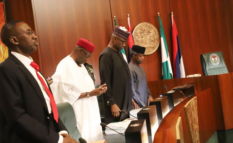 PHOTONEWS: Osinbajo Presides Over FEC Meeting