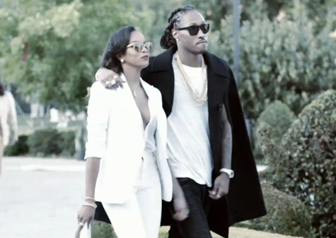 Future Back With Third Baby Mama Brittni Mealy