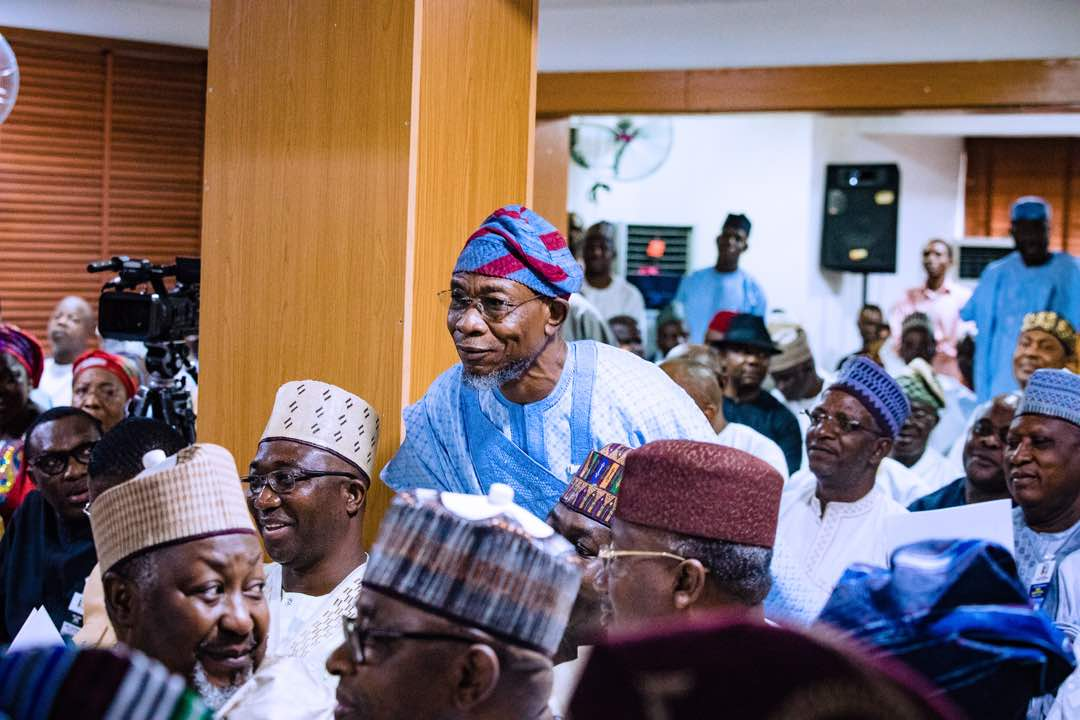 PHOTONEWS: Governor Aregbesola Attends APC NEC